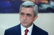 Սերժ Սարգսյանը շնորհավորել է Հունաստանի նախագահին՝ Անկախության օրվա առթիվ