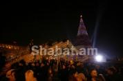 Ամանորյան տոները մեկնարկեցին. վառվեցին Հանրապետության գլխավոր տոնածառի լույսերը.(ֆոտոշարք)...