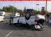Երևանում մեքենան բախվել է կամրջի բետոնե հատվածին և գլխիվայր շրջվել.  Վերջին զանգի արարողու...