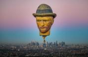 Վան Գոգի պատկերով օդապարիկը սավառնել է Մելբուռնի երկնքում (լուսանկարներ)