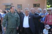 ՀՀ պաշտպանության նախարարը մասնակցել է ԵԿՄ ուսումնամարզական ճամբարի բացման արարողությանը