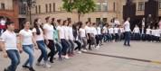 Մոսկվայի հայկական եկեղեցու բակում քոչարի են պարել (տեսանյութ)