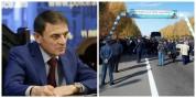 Վալերիյ Օսիպյանը հանդիպել է Երևան-Սևան ճանապարհը փակած քաղաքացիների հետ