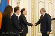 Նիկոլ Փաշինյանն այսօր ընդունել է Ֆրանսիայի հայկական կազմակերպությունները համակարգող խորհրդ...