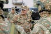 ՀՀ զինված ուժերի գլխավոր շտաբի պետն այցելել է հյուսիս-արևելյան սահմանագոտի