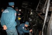 Ավտոմեքենան Աշտարակ-Երևան ավտոճանապարհին շրջվել է և բռնկվել