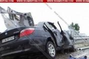 Բարձրաշենում 29-ամյա տղամարդը «BMW»-ով վթարի է ենթարկվել. մեքենայում գտնվող մանկահասակ երե...