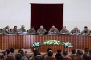 Արցախում տեղի է ունեցել ՊԲ ռազմական խորհրդի նիստ
