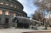 Շաբաթօրյակի շրջանակում լվացվել են մայրաքաղաքի արձանները