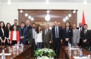 Արցախի ԱԺ նախագահն ընդունել է ՀԲԸՄ Եվրոպայի կառույցի մի խումբ երիտասարդների
