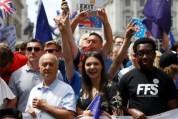 Երթի մասնակիցները Լոնդոնում պահանջում են Brexit-ի վերջնական քվեարկությունը