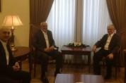 Էդվարդ Նալբանդյանը ՀԲԸՄ նախագահի հետ քննարկել է համահայկական օրակարգին առնչվող հարցեր