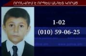 12-ամյա Հրաչյա Բադասյանը որոնվում է որպես անհետ կորած. տեսանյութ