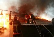 Վարդենիկ գյուղի  տներից մեկում հրդեհ է բռնկվել