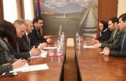 Իրանի դեսպանին ներկայացվեցին Հայաստանի տարածքով մուլտիմոդալ փոխադրման առավելությունները