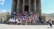 «Քայլ դեպի տուն» ծրագրի մասնակիցները շարունակում են այցելել Հայաստանի պատմամշակութային վայ...