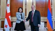Վրաստանը կարևորում է հարաբերությունների զարգացումը Հայաստանի հետ. Սալոմե Զուրաբիշվիլի