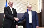 Ալիևն ու Պուտինը քննարկել են Ղարաբաղյան կարգավորման հարցը. Ադրբեջանի նախագահական