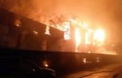 Իրանում խոշոր հրդեհի հետևանքով 25 նավ է այրվել