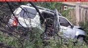 Բախվել են Ford-ն ու Nissan-ը. վերջինը հայտնվել է ձորակում. կան վիրավորներ. Shamshyan.com