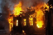 Իջևանում վագոն-տնակ է այրվել
