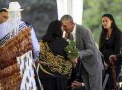 ԱՄՆ նախկին նախագահ Բարաք Օբամային Նոր Զելանդիայում դիմավորել են «քթային ողջույններով» (լու...