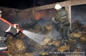 Ազատանի տներից մեկի մոտակայքում անասնագոմ է այրվել