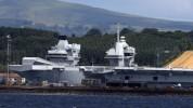 Крупнейший корабль ВМС Британии впервые отправится в плавание