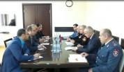 ԻԻՀ Իրավապահ ուժերի թմրանյութերի դեմ պայքարի ոստիկանության պատվիրակությունը Հայաստանում (տեսանյութ)