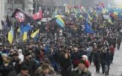 Կիևում Սաակաշվիլիի հազարավոր կողմնակիցներ Պորոշենկոյի հրաժարականն են պահանջում