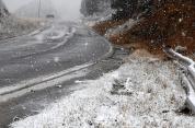 Դժվարանցանելի է Սոթք-Քարվաճառ ավտոճանապարհը. որոշ մարզերում ձյուն է տեղում