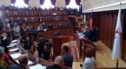 Գյումրիում  մեկնարկել է ավագանու նիստը. քննարկվում է Սամվել Բալասանյանին անվստահություն հա...