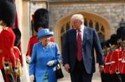 Էլիզաբեթ II թագուհին Թրամփի հետ հանդիպմանը ներկայացել է Օբամաների նվիրած կրծքազարդով