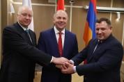 Տեղի է ունեցել Հայաստանի, Բելառուսի և Ռուսաստանի քննչական կոմիտեների նախագահների աշխատանքա...