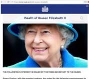 Մեծ Բրիտանիայի թագուհի Եղիսաբեթ II-ը մահացե՞լ է