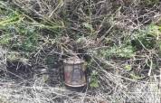 Ռյա Թազա գյուղի տարածքում հայտնաբերվել է ձեռքի նռնակ