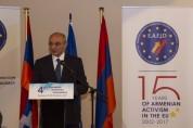 Բակո Սահակյանը Բելգիայում մասնակցել է 4-րդ Եվրոպական հայկական համագումարի բացմանը