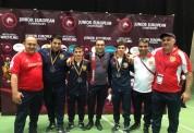 Ազատ ոճայինները ըմբշամարտի Եվրոպայի երիտասարդական առաջնությունում զբաղեցրել են թիմային 6-ր...