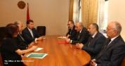 Բակո Սահակյանը Երևանում հանդիպել է Ամերիկայի հայկական համագումարի պատվիրակության հետ