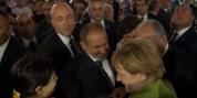 Նիկոլ Փաշինյանը և Անգելա Մերկելը զբոսնում են երեկոյան Երևանում