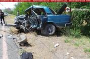 Արագածոտնի մարզում խոշոր ավտովթարի հետևանքով 1 հոգի տեղում մահացել է, 2-ը տեղափոխվել են ԲԿ...