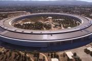 Անօդաչուն նկարահանել է Apple-ի՝ գրեթե ավարտուն հսկա գրասենյակի շենքը