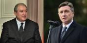 Նախագահը շնորհավորել է Սլովենիայի նախագահին՝ Պետականության տոնի առթիվ
