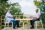 Կարեն Կարապետյանը պապական տանն է հանգստանում, նա 200 հա նռան այգի հիմնելու խոստում է տվել