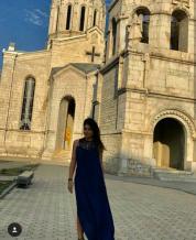 Սիրուշոն այցելել է Արցախ և մասնակցել մկրտության (լուսանկարներ)