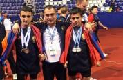 Պատանի ծանրորդները ոսկե և արծաթե ﬔդալ են նվաճել Եվրոպայի առաջնությունում