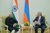 Սերժ Սարգսյանն ու Հնդկաստանի փոխնախագահը քննարկել են առկա մարտահրավերներն ու Արցախյան հիմն...