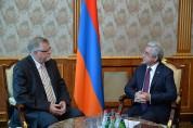 Սերժ Սարգսյանը և ԵՄ հատուկ ներկայացուցիչը քննարկել են Արցախի հակամարտության կարգավորման գո...