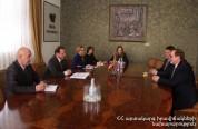 ՀՀ ԱԻ նախարարն ընդունել է ՌԴ դեսպան Վոլինկինին