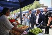 Մայրաքաղաքում վերաբացվել է գյուղմթերքների երկրորդ տոնավաճառը